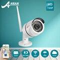 ANRAN IP66 Водонепроницаемый Открытый Пуля IP Камера Wi-Fi 720 P HD Видеонаблюдения Инфракрасного Ночного Видения Беспроводной Камеры Безопасности