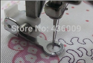 Domestic Sewing Machine Parts Presser Foot 701 Round Embroidery