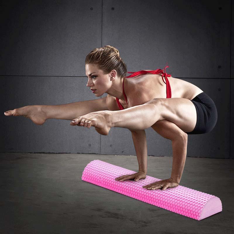 Half Round EVA Massage Foam Roller