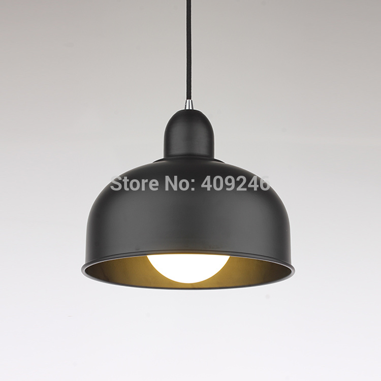 ФОТО Idustrial Simple Edison Vintage Style Simple Wrought Iron Black/White Decorative Droplight For Balcony Hall Cafe Bar