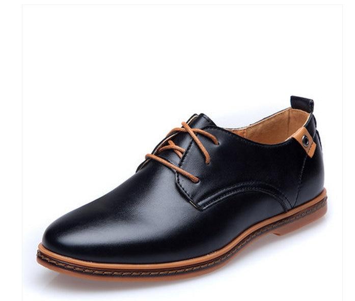 Cuir Chaussures Vache Muscle Dentelle up Semelles Fleur En Porc Oxford Homme Appartements Noir Mâle Hommes Véritable Pleine De 46 38 marron twqOwfp