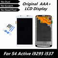 100% Tested Good Original LCD Display for Samsung S4 Active i9295 i537 Black/White/Gray Color Replacement LCD Screen with Tools