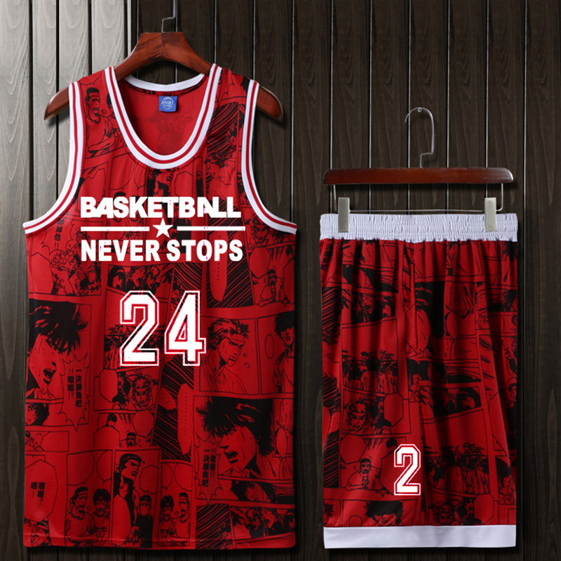 1b678b842 Custom Men Women Kids basketball jerseys Cheap blank college basketball  uniforms Youth Basketball set suits dry quick breathable-in Basketball  Jerseys from ...