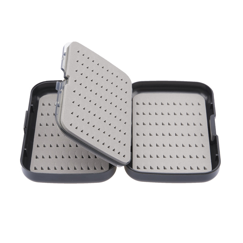 Thickened Waterproof Hook Box A&B Waterproof Fly Fishing Case With Slit Foam Fishing Lure Hook Bait  Fishing Tackle Boxes