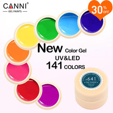 CANNI Gel Lacquer 5ML 141 Pure Colors UV Gel Manicure DIY Nail Art Tips