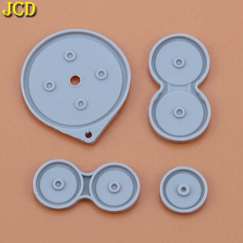 Image 3 - JCD 1Set Rubber Conductive Buttons For Nintend Game Boy Advance SP For GBA SP Silicone Pads Buttons-in Replacement Parts & Accessories from Consumer Electronics