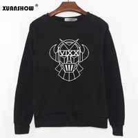 2019 Fashion Autumn Women's Sweatshirt Long Sleeve KPOP VIXX Fans Clothing Hooides Hip Hop Female Tops Sudadera Mujer
