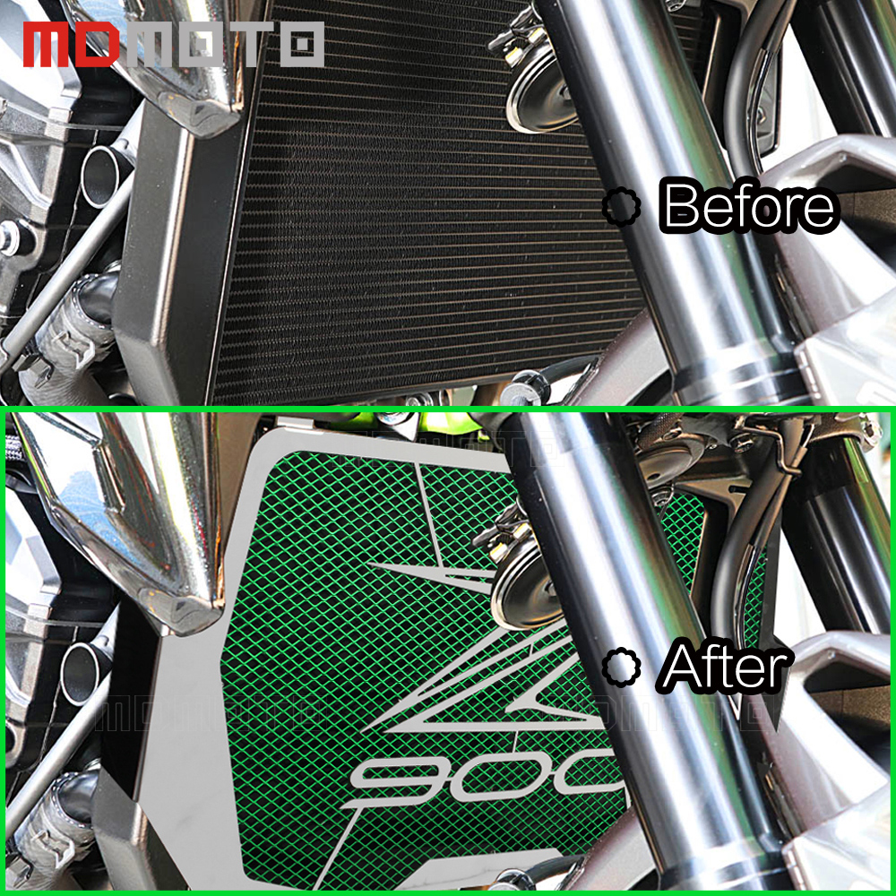high quality For Kawasaki Z900 2017 Radiator Grille Guard Cover Protector Z900 Z 900 motorcross accessories part 100% brand new motorcycle radiator grille grill guard cover protector golden for kawasaki zx6r 2009 2010 2011 2012 2013 2014 2015