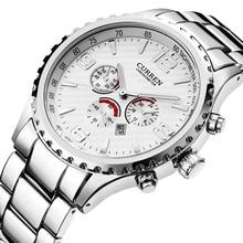Original New CURREN Top Luxury Relogio Masculino Casual Brand Orologio Analog Date display Men Sport Reloj Military Quartz Watch