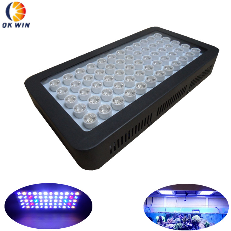 Dimmable 180W led aquarium light 60X3W Fish tank System for warehouse and aquarim tank coral reef dropshipping full spectrum dimmable 165w led aquarium light for fish tank culture coral aquatic reef aquarium led lighting marine
