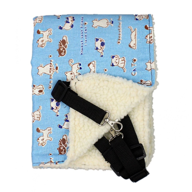 6 Patterns Cute Pet Rat Rabbit Chinchilla/Cat Cage Hammock Small Pet Dog Puppy Bed Cover Bag Blankets