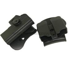 Тактический Пистолет IMI кобура Glock 17 19 правая рука ремень петля лопастная платформа кобуры с зажимом для журналов сумка аксессуары
