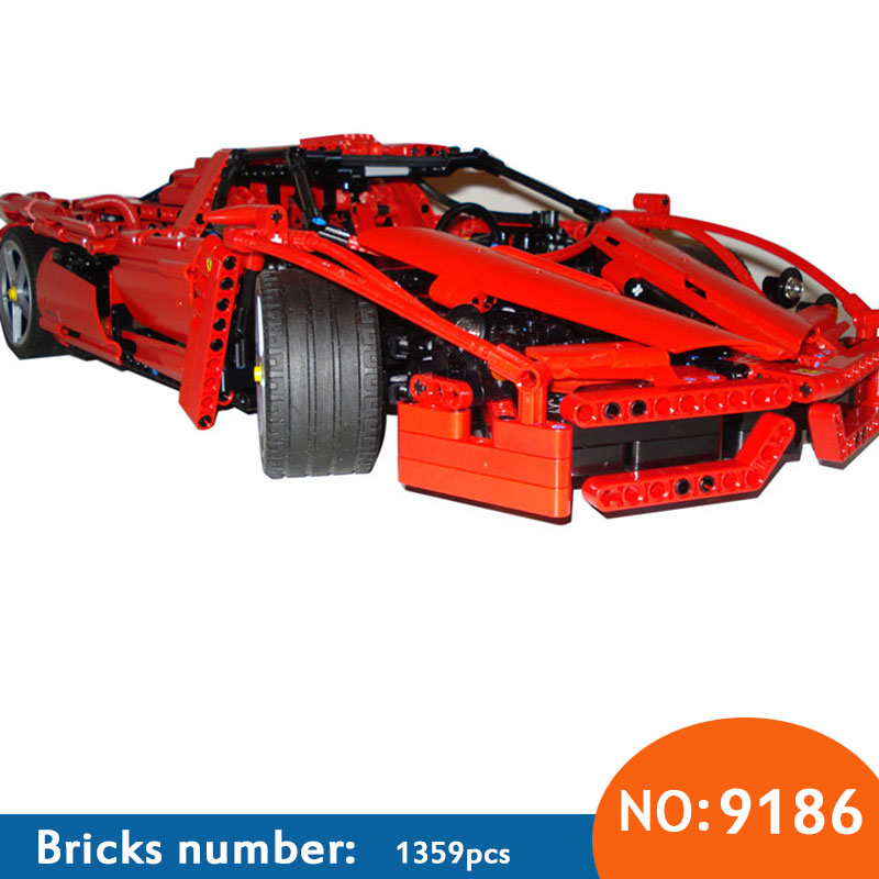 2017 New AIBOULLY Technic ENZO 1:10 Supercar Car Model Building Block Educational Construction Bricks compatible with DIY 8653 new 10 1