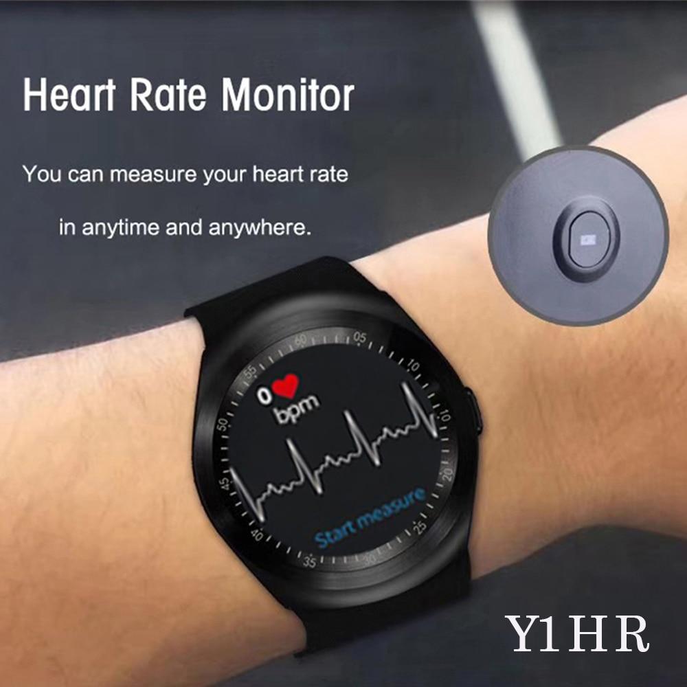696 2G GSM SIM Card call Sport smart watch Y1HR Heart Rate monitor Passometer smart watch men Fitness Tracker smart bracelet