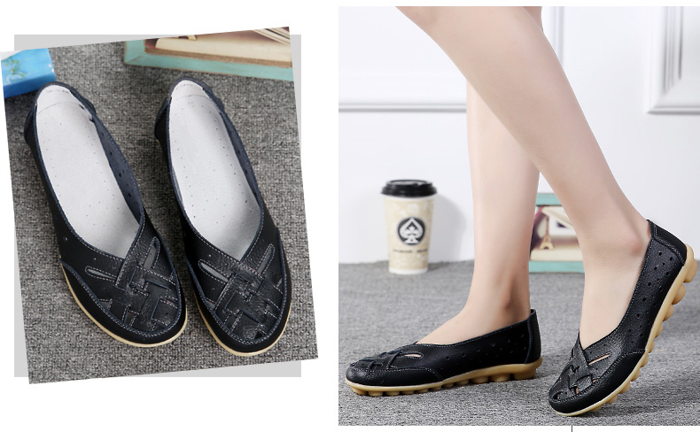 AH1165 (14) Women's Loafers Shoes