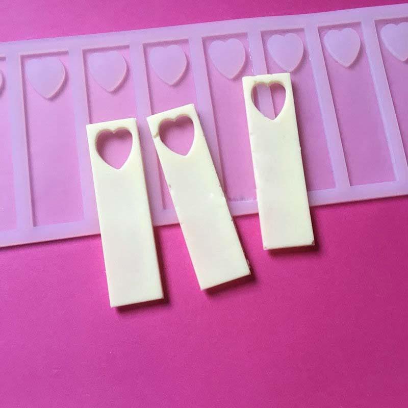 9cm κούφια καρδιά DIY Σιλικόνης Σοκολάτα - Κουζίνα, τραπεζαρία και μπαρ - Φωτογραφία 4