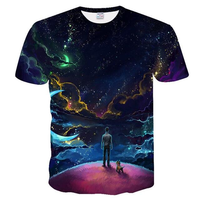 2018 New Men t shirt Rick And Morty funny t shirts Classic Animation T-shirt Men Fashion Casual Fiction T Shirt hip hop tops