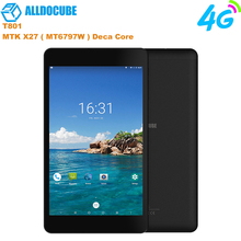 NEW ALLDOCUBE M8 8 inch 4G Phone Call Tablets MT6797X Helio X27 Deca Core 1200*1920 IPS Screen Android 8.0 3GB+32GB Tablet PC