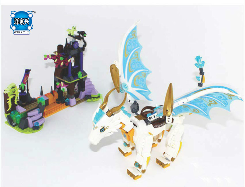 Hot Elves Long After The Rescue Ction Fairy Building Block Model Compatible Lepins & BELA Bricks Figures Toys Children