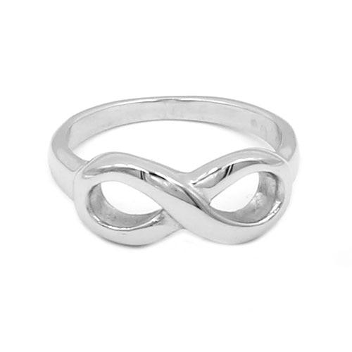3d3c6cc92f21 Endless Love symbol anillo de acero inoxidable joyas de plata infinito  Anillo del motorista moda eternidad anillo mujeres regalo de boda SWR0700  en Anillos ...