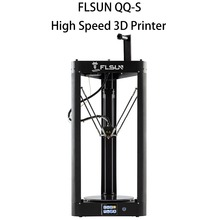 Flsun-QQ-S 3d Printer 95%Pre-assembly Auto-leveling High Speed Glass-ceramic platform 3d Printer Touch Screen Wifi Filament Kit кроссовки overcome gb18002