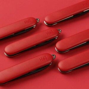 Image 2 - Youpin Mijia Huohou מיני לפרוק סכין פי פירות סכין לחתוך כלי מחנה כלי פתוח חבילה חיצוני לשרוד קליפ מחנה קאטר