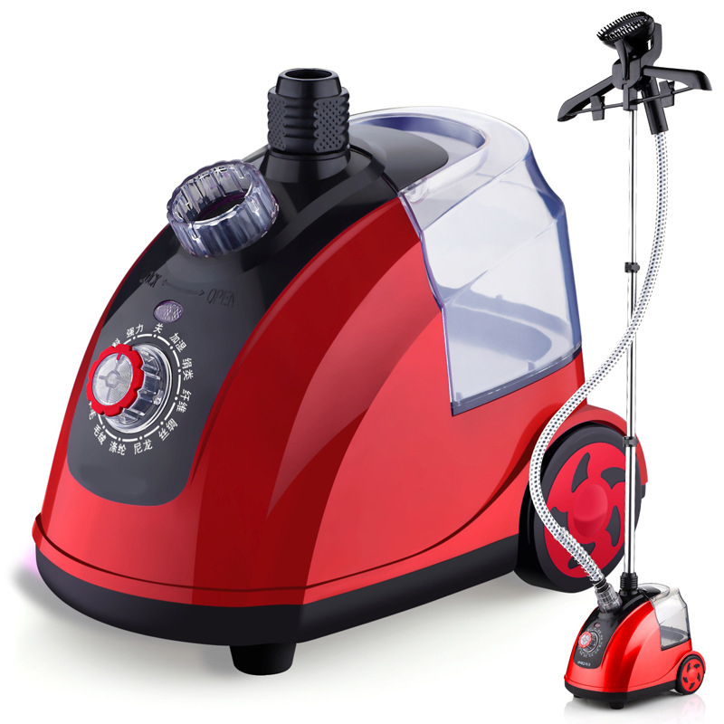 DMWD Garment Steamer Iron 220V Adjustable Clothes Steamer 1800W 11 Gear For 9 Kinds Of Fabrics 1.8L Water Tank 33S Fast Steam