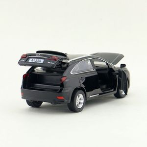 Image 5 - Escala 1:32 lexus rx350 suv esporte carro brinquedo diecast veículo modelo puxar para trás som & luz coleção educacional presente para o miúdo
