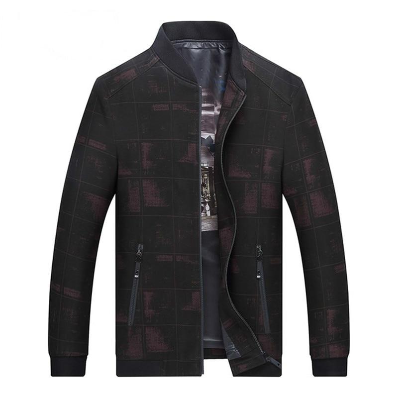 Jacket 8XL 7XL spring autumn New 2018 Men Fashion Casual Mens Jacket Sportswear Bomber Mens jackets coats Coat blouson homme