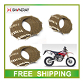 SHINERAY XY250GY X2 X2X clutch plate 250CC dirt bike motorcycle accessories free shipping