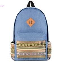 Мода Корейской Школы Молодежи Тенденция школьные сумки 2015 новый дамы женская сумка рюкзак Рюкзак Школьный Ранец Книги Мешок 57