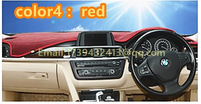 dashmats car-styling accessories dashboard cover for peugeot 208 gti 2012 2013 2014 2015 2016 rhd