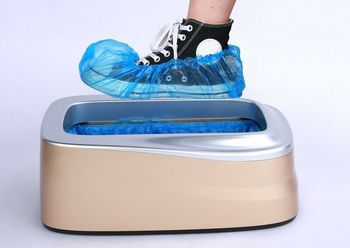Shoe Cover Dispenser Overshoes Machine automatically Wear Disposable Bags Factory Sale