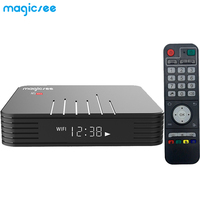 MAGICSEE N5 Max Android 8.1 TV Box Bluetooth TV Box 4G DDR4 32G/64G EMMC 2.4GHZ 5GHz Dual Band WiFi Support 4K H.265 Set Top Box