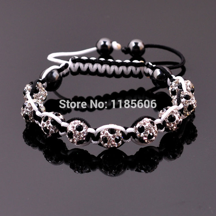Fashion shamballa football bracelets & bangles women men creative World Cup gifts Crystal jewelry - CRYSTAL BEADS store