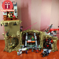 Legoing одежда «Супергерои» серии 76052 2566 шт. Классические bat пещера игрушки для Детский подарок 07053 Набор строительных блоков Совместимость обр