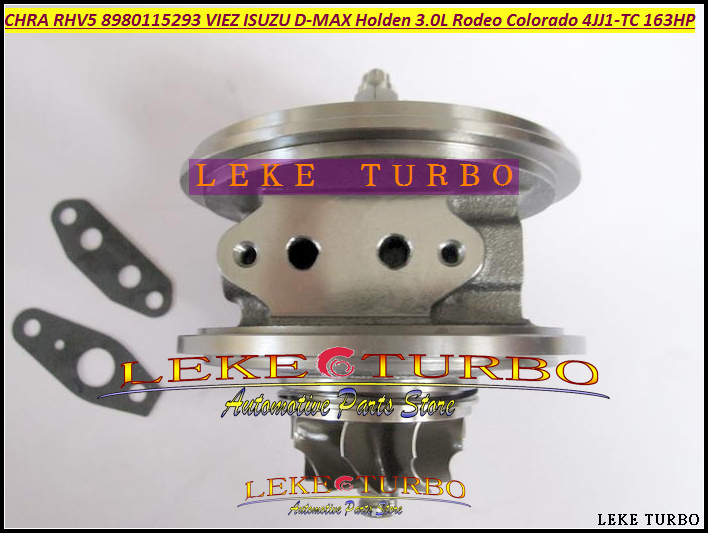 Turbo Cartridge CHRA Core RHV5 VIEZ 8980115294 8980115296 For ISUZU D-MAX For HOLDEN 3.0L CRD Rodeo Colorado 4JJ1T 4JJ1-TC 163HP free ship rhv5 8980115293 vdd30013 viez turbo turbocharger for isuzu d max 3 0l crd for holden rodeo td colorado 4jj1t 4jj1 tc