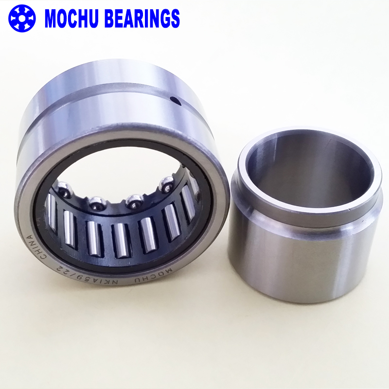1piece NKIA5909 NKIA5909-XL 45X68X30 NKIA MOCHU Combined Needle Roller Bearings Needle Roller  Angular Contact Ball Bearing 1pcs 71901 71901cd p4 7901 12x24x6 mochu thin walled miniature angular contact bearings speed spindle bearings cnc abec 7