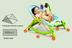 Image 2 - Baby Throne Baby Music Portable Rocking Chair