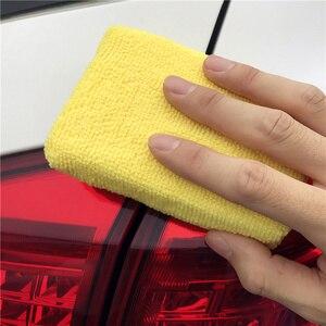Image 5 - 5 Pcs Auto Care Premium Microfiber Applicators Sponzen, Doeken, Microvezel Hand Wax Polijsten Detaillering Pad