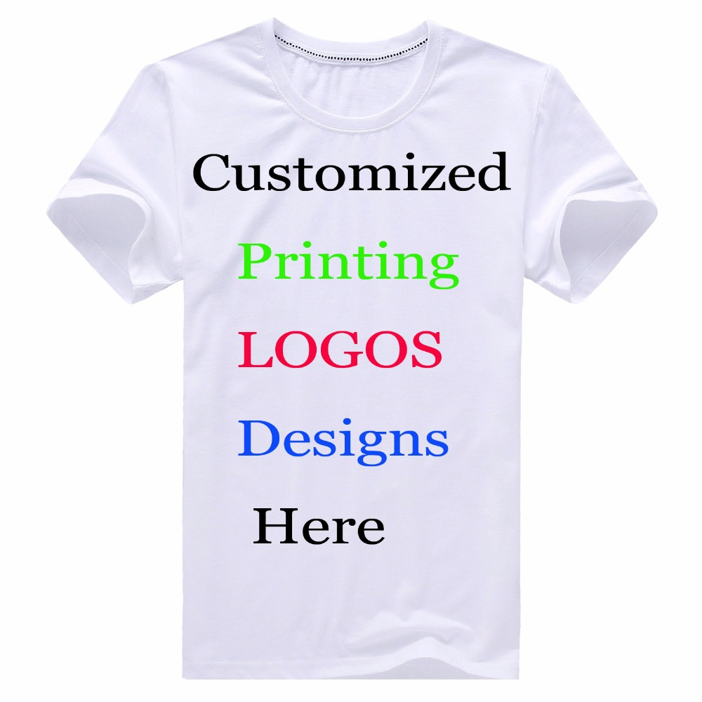 Design your own t-shirt for toddlers - Custom Printing Personalized T Shirts Designer Logo Mens Women Children Family Customized T Shirt Advertising