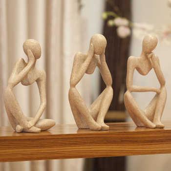 Europe abstraite créative décor à la maison décorations de bureau Art Figurines et Miniatures salon ameublement décoration