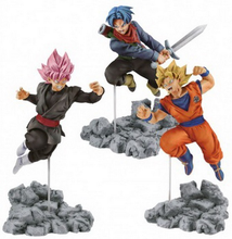 12cm 3 Types Anime Dragon Ball Z Super Soul X Soul Son Goku Trunks Black Goku PVC Figures Model Toys Action Figure Dragon Ball