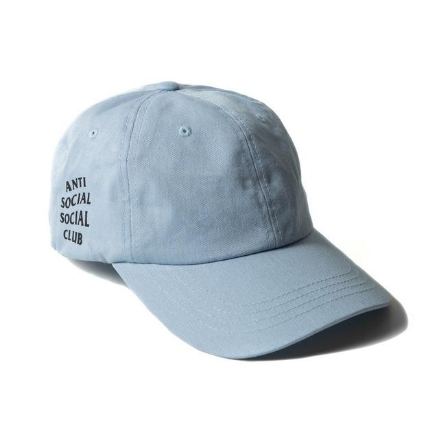 New Arrival Hip Hop Anti Social Club Adjustable Baseball Cap