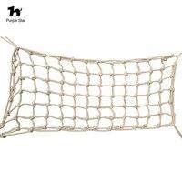 Estrella púrpura 45*90 cm pájaro loro grande cáñamo cuerda escalada Net swing masticar Juguetes jaula colgante jugando pie mordedura Juguetes