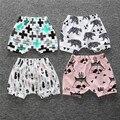 21 Estilos 6 M-4 T Bebé Animal de la Historieta Niñas Niños Pantalones Cortos de Verano de Algodón Haren Bebé Triángulo Recién Nacido Niños pantalones Cortos