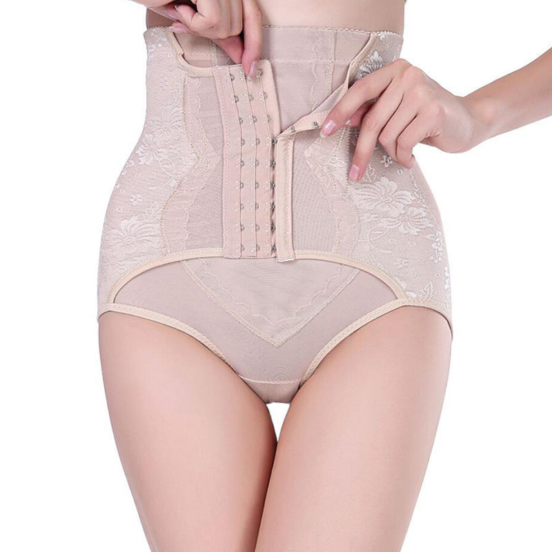 Nine breasted adjustable adjustable bouquet body pants hips abdomen waist body body shaping belly pants free shipping in Control Panties from Underwear Sleepwears