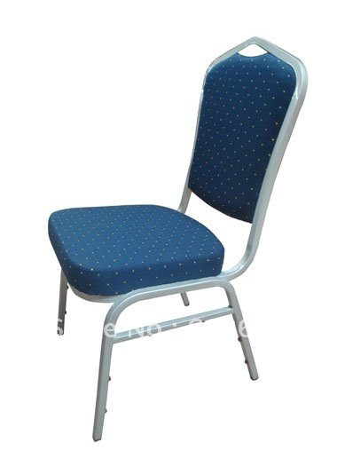 Hot Sale Blue Fabric Stacking Steel Banquet Chair LUYISI1030BLUE