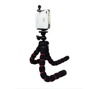 Штатив Портативный Гибкий губка Осьминог селфи палка стенд S M L крепление + держатель телефона Tripode для камеры Gopro Canon Nikon DSLR