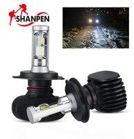 2pcs Car LED Headlights S1 H4 HB2 9005 HB3 9006 HB4 H7H8H11 50W 8000LM Fog Light